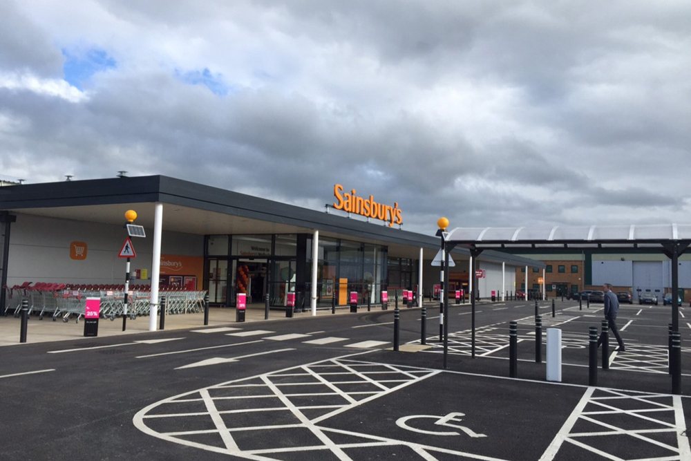 Sainsbury's Superstore, Warwickshire