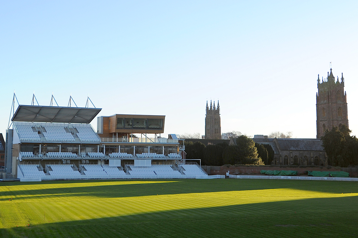 Somerset Cricket Pavilion, Taunton
