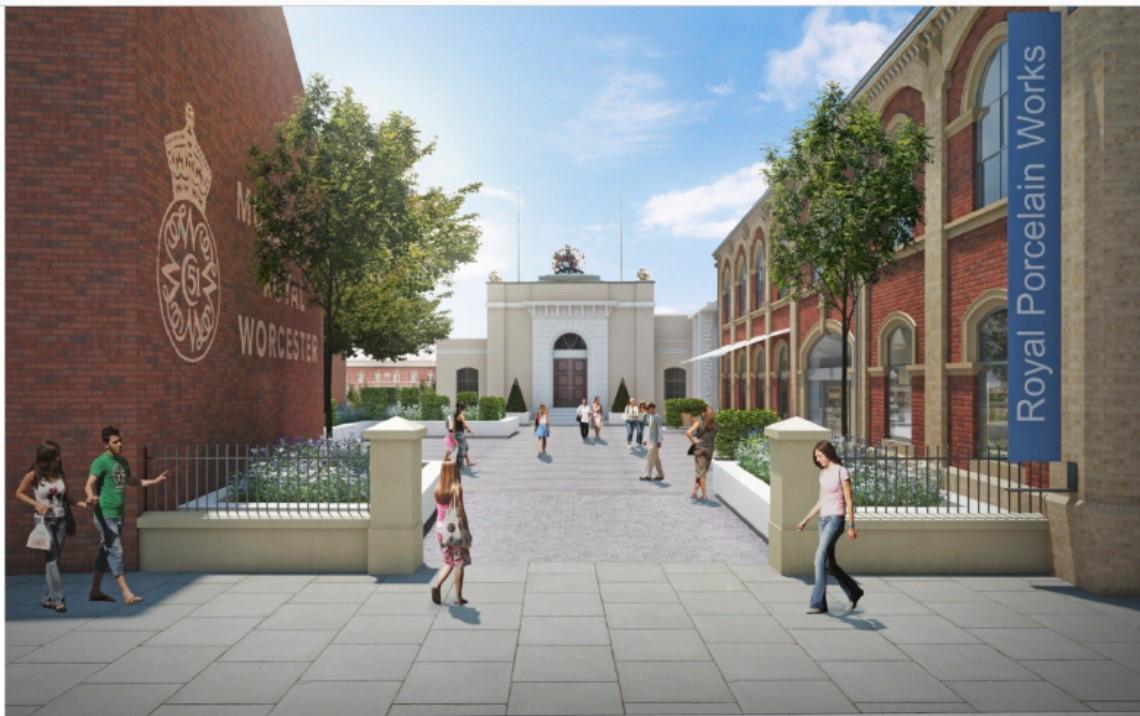 Worcester Porcelain Redevelopment Starts on Site - Ward Williams ...