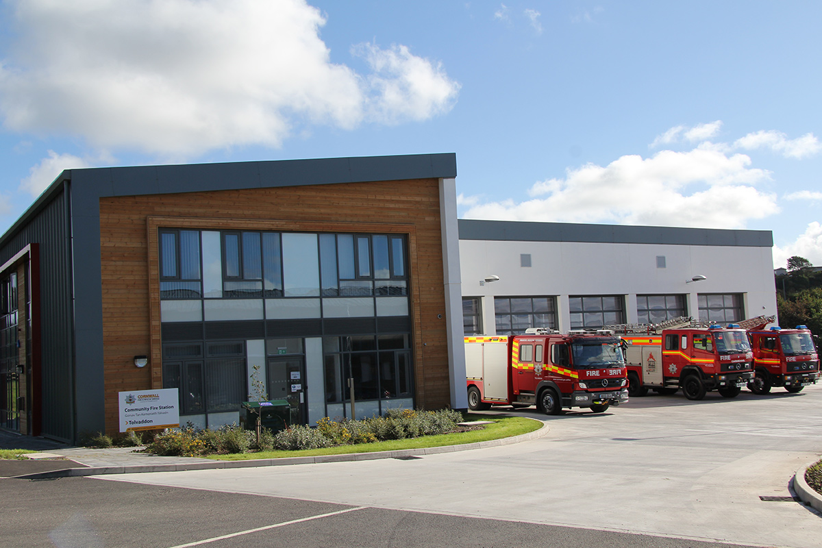 Fire stations & headquarters, Cornwall