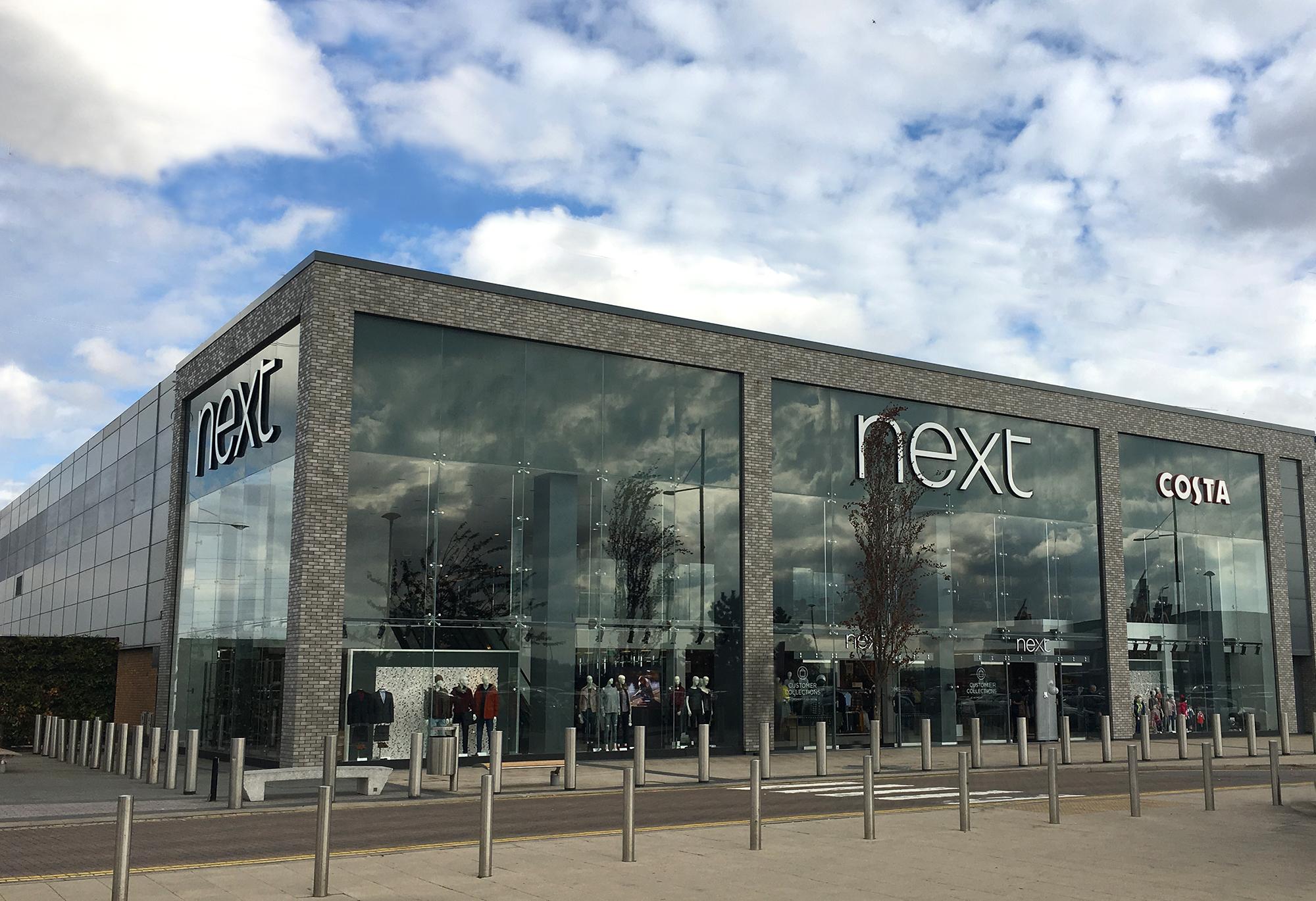 Next Store, Beckton, London