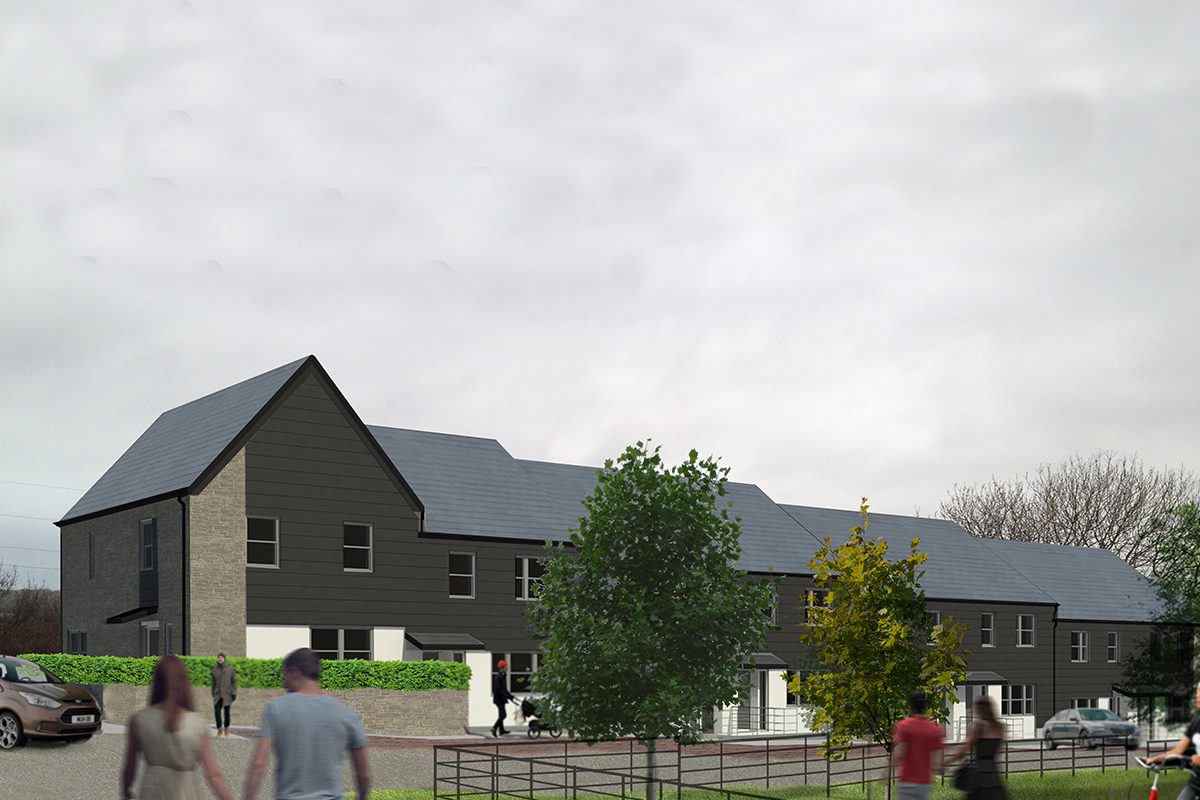 Contemporary Cornish Living, Cornwall Housing, Tolvaddon